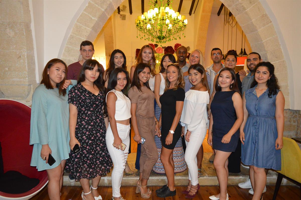 EMU International Office Organized A Farewell Dinner For 2016-17 Spring Semester Exchange Students