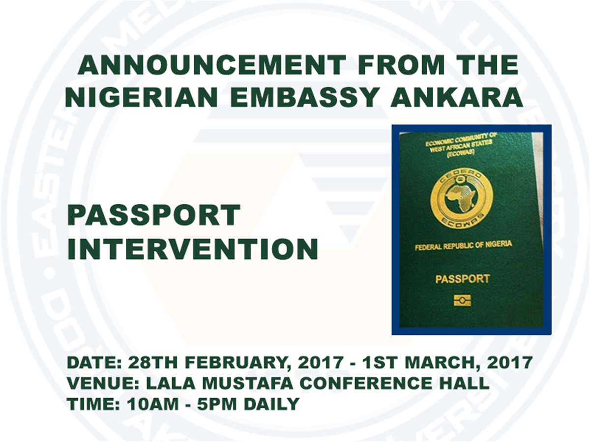 Nigerian Students Passport Intervention
