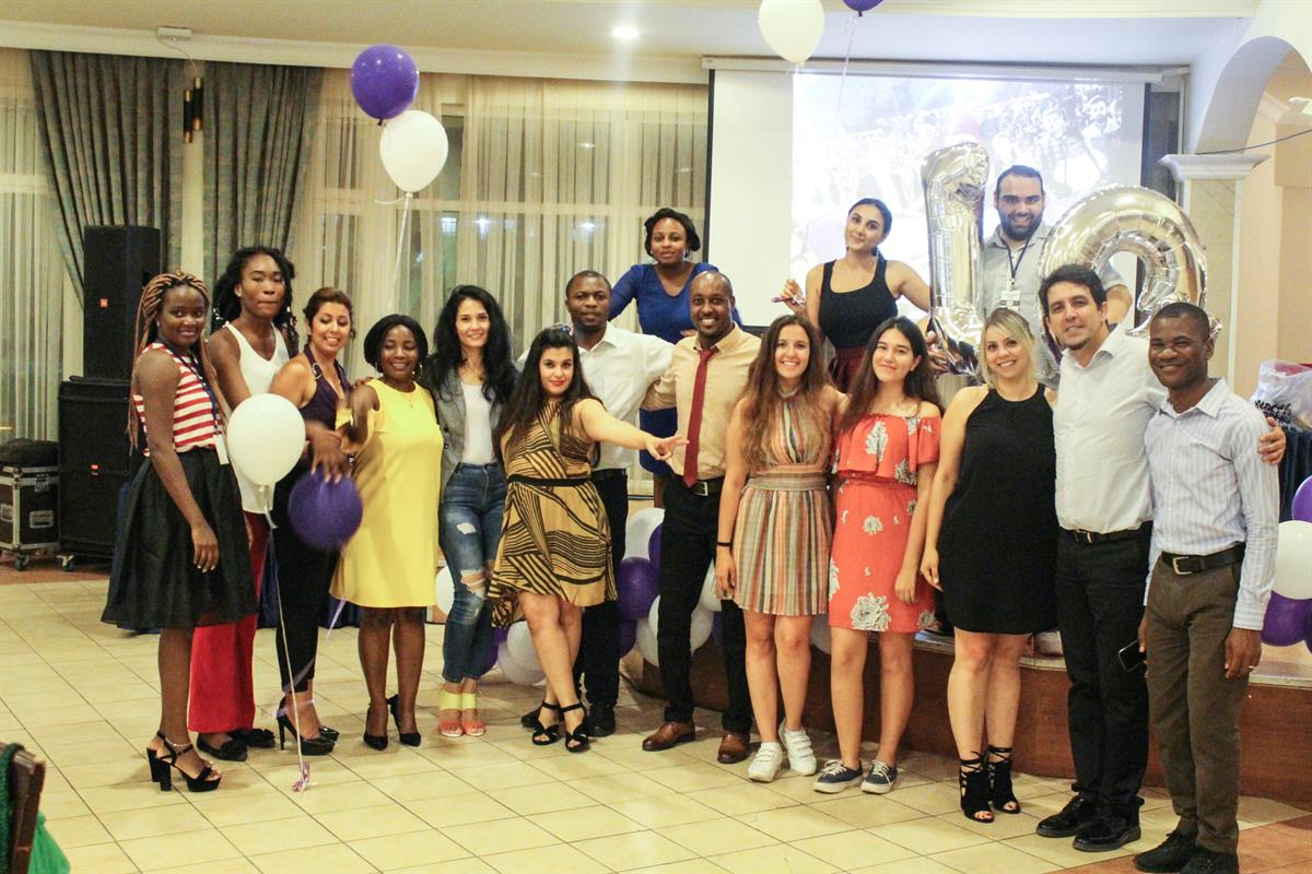 International Office Hosts Appreciation Dinner