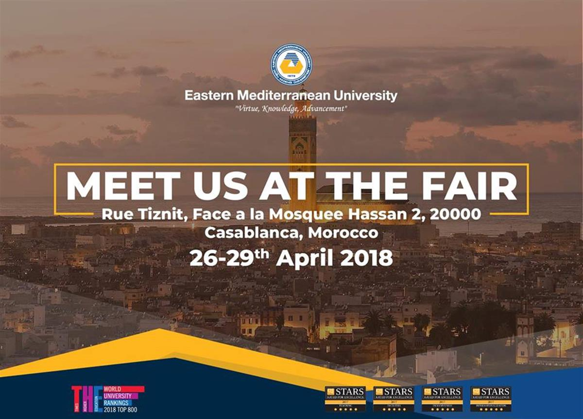 MEET US AT THE FAIR - Morocco
