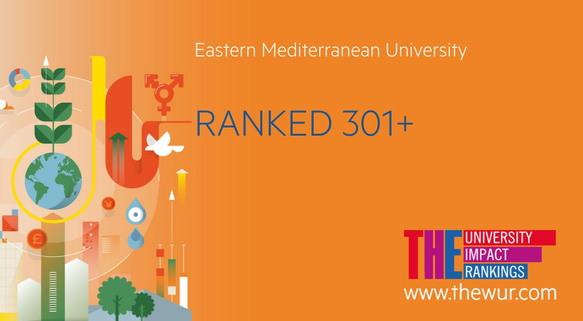 EMU is Featured on the Times Higher Education Universities Impact Rankings
