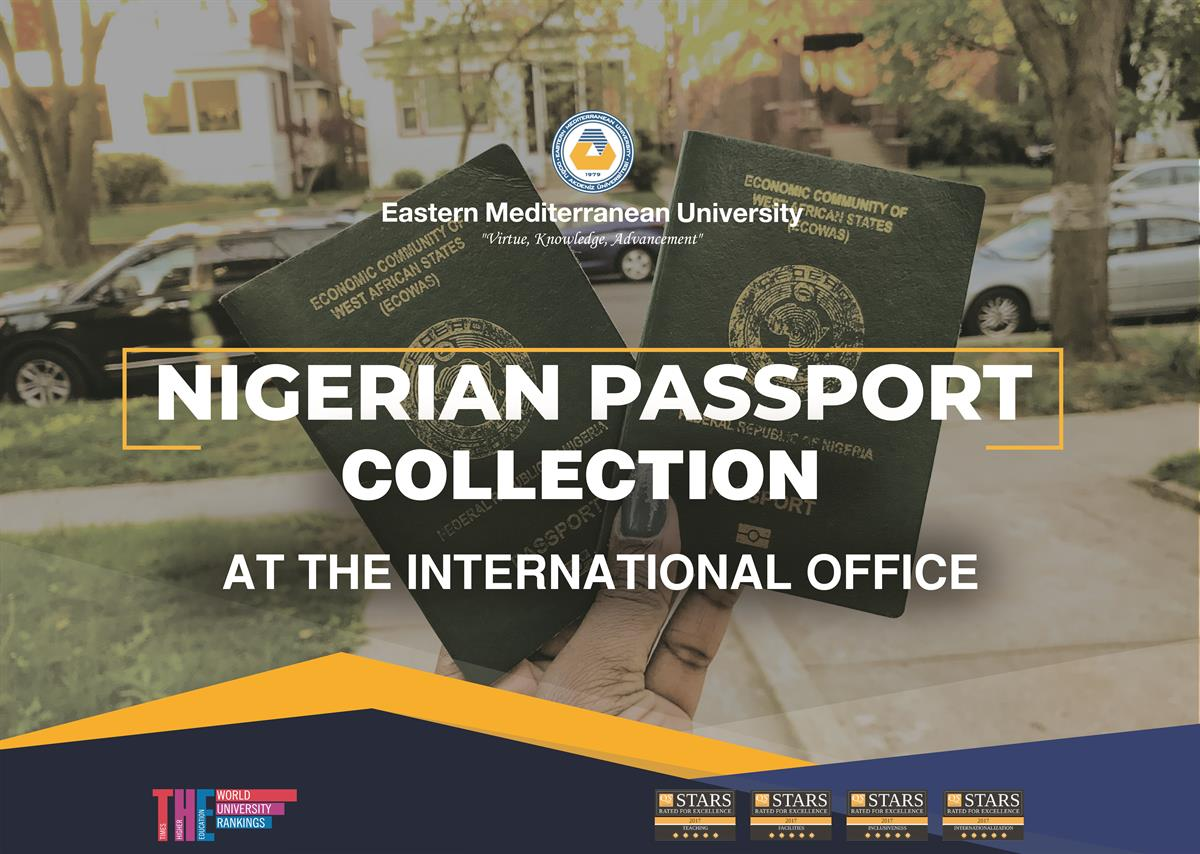 Nigerian Passport Collection